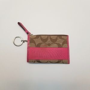 Coach Pink Coin Wallet